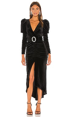 Alicia Velvet Dress Ronny Kobo $448 NEW ARRIVAL