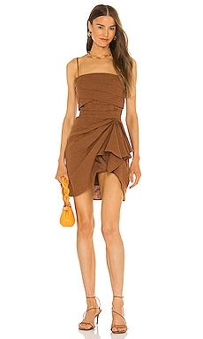 Sandra Mini Dress Ronny Kobo $338