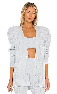 Parmida Cashmere Knit Cardigan Ronny Kobo $449