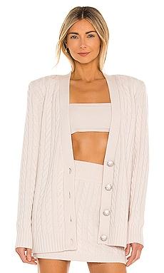 Parmida Cashmere Knit Cardigan Ronny Kobo $498