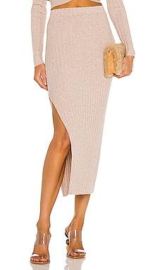 Irenna Knit Skirt Ronny Kobo $358