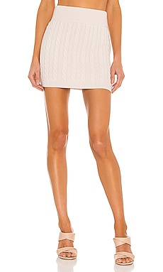 x REVOLVE Adora Cashmere Knit Skirt Ronny Kobo $298