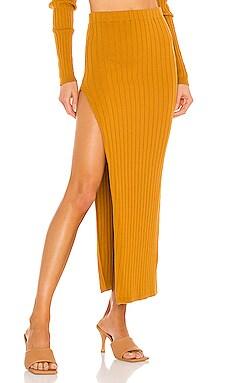 Irenna Knit Skirt Ronny Kobo $348 NEW