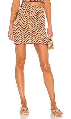 Biance Knit Skirt Ronny Kobo $167