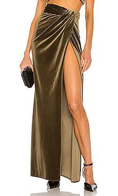 X REVOLVE Blythe High Slit Maxi Skirt Ronny Kobo $298