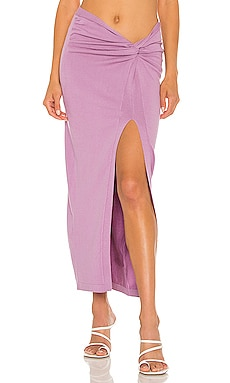 Desdemonia Knit Skirt Ronny Kobo $268