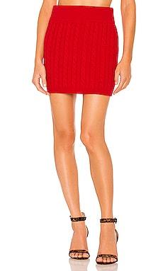 X REVOLVE Adora Skirt Ronny Kobo $298