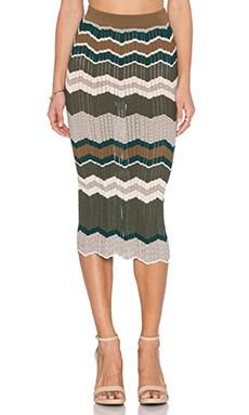 Ronny Kobo Opal Skirt in Olive
