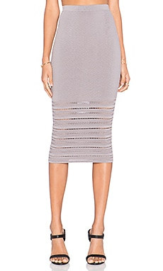 Ronny Kobo Darling Skirt in Steel
