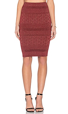 Ronny Skirt in Bordeaux