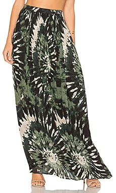 Raquelle Skirt in Green Multi