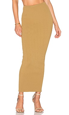 Bethanne Maxi Skirt in Fennel
