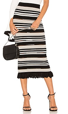 Marta Pico Stripe Skirt