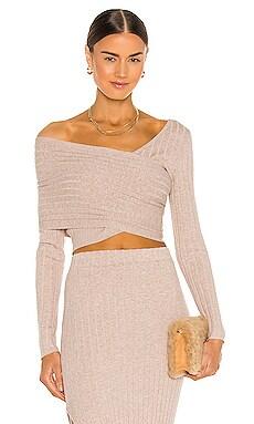 Rosette Knit Top Ronny Kobo $328 NEW