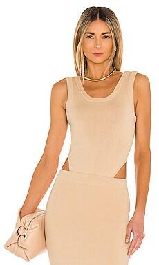 Zosia Knit Bodysuit Ronny Kobo $298