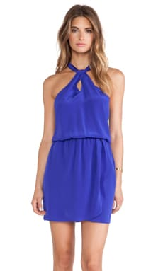 Rory Beca Yves Knot Dress in Violaceous
