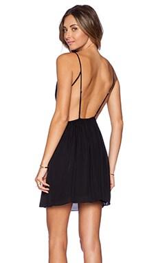 Rory Beca Marlen Backless Dress in Onyx