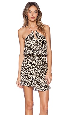 Rory Beca Lara Halter Dress in Bam Bam