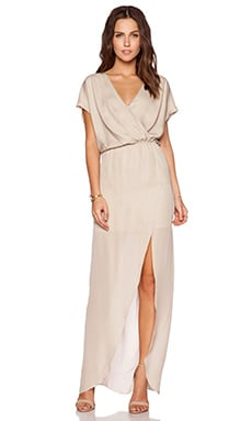MAID by Yifat Oren Plaza Gown in Nude