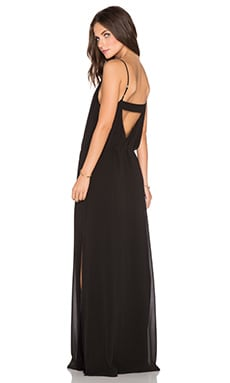 Rory Beca Larissa Maxi Dress in Onyx