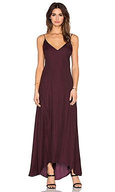 Rory Beca Petite Maxi Dress in Maroon