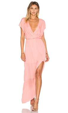 Rory Beca MAID By Yifat Oren Plaza Gown in Coral