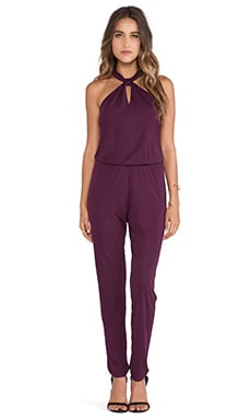 Rory Beca Chaos Jumpsuit in Currant