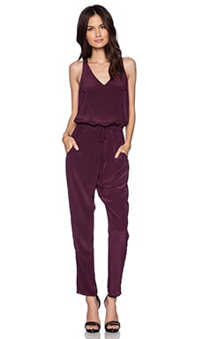 Rory Beca Taino Jumpsuit in Currant