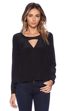 Rory Beca Mento Blouse in Onyx