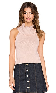 Devine Crop Top en Litchi