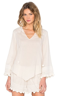 Rory Beca Parakeet Top in Cream