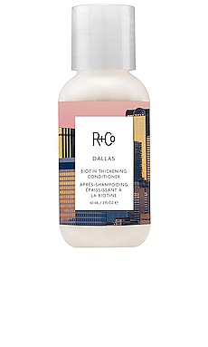 Travel Dallas Thickening Conditioner R+Co $14 BEST SELLER