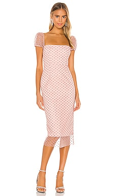 Rozalina Midi Dress Rêve Riche $443