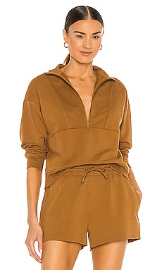 Terry Mockneck Sweatshirt Richer Poorer $44