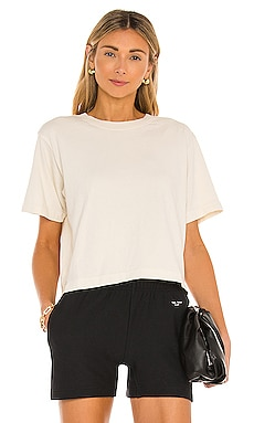 Relaxed SS Crop Tee Richer Poorer $38 BEST SELLER