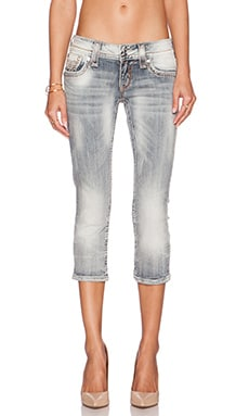 Rock Revival Jen Cropped Jean in P103