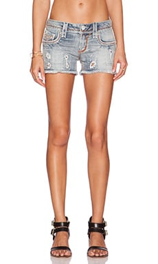 Rock Revival Amra Shorts in H205