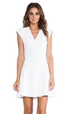 Rebecca Taylor Novelty Texture Dress in Sea Salt