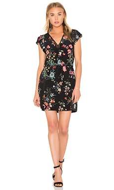 Rebecca Taylor Meadow Dress in Black Combo