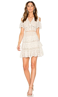 Eliza Cold Shoulder Lace Dress