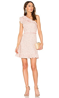 Multi Tweed Dress in Pink Grapefruit