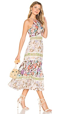 Print Mix Dress in Print Mix Combo