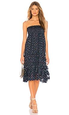 Фото - Конвертируемая юбка и платье - Rebecca Taylor синего цвета