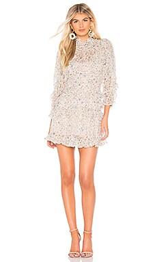 Vivianna Ruffle Dress Rebecca Taylor $417