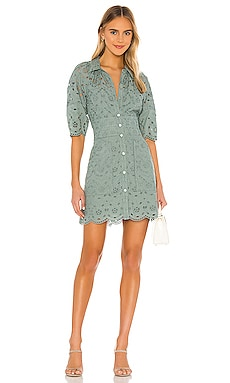 Short Sleeve Mina Eyelet Dress Rebecca Taylor $328