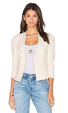Rebecca Taylor Suiting Jacket in Cream
