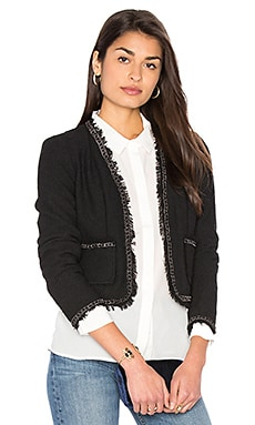 Boucle Jacket in Black