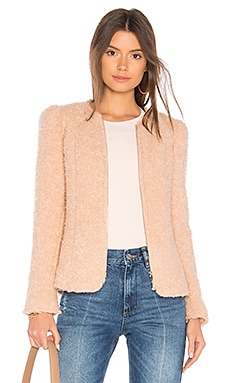 Fluffy Tweed Jacket Rebecca Taylor $278
