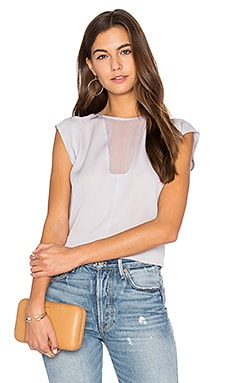 Charlie Top in Dusty Lavender