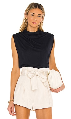 T Neck Shell Top Rebecca Taylor $75